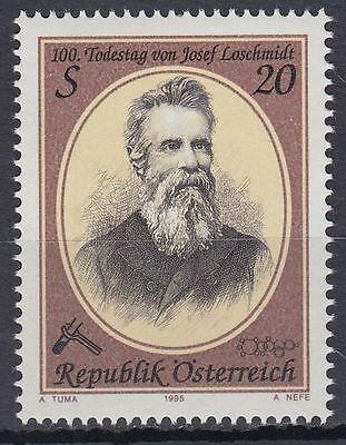 Österreich Austria 1995 ** Mi.2163 Loschmidt Physikochemiker Chemist