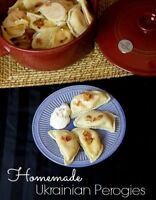 Ukrainian home made Perogies and Cabbage Rolls.