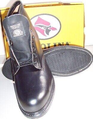 Work Boot - Safety|Steel Toe - Carolina Shoe - Black- 6