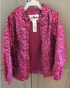 LIKE NEW SPORTEK 6X GIRLS LINED WINDBREAKER!!