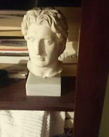 Alabaster Alexander the great bust