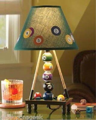 Electric Billiards Balls Lamp Snooker Pool Ball Table Lamp