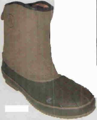 Proline RLSP34B-3 Boys Lined Pull-On Boots Dark Brown Size 3