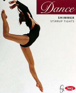 CHILDRENS-SHIMMER-STIRRUP-DANCE-TIGHTS-IN-TOAST-LIGHT-TOAST-COLOUR-AGES-5-13