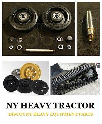 0702-253 0702253 Middle Bogie Wheel Kit X2 W Shaft Asv Rc50 Rc60 Sc50 St50 Terex