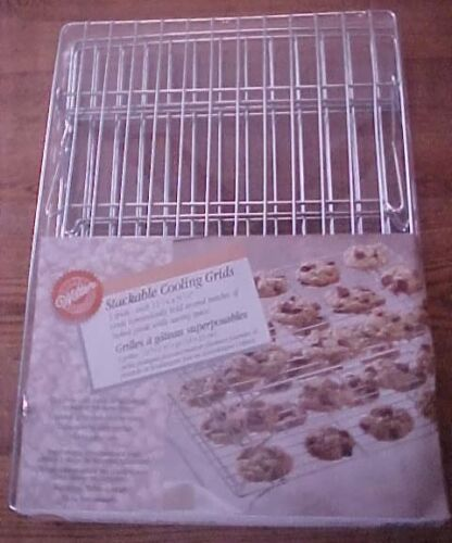 Wilton Stackable Cooling Grids / Racks Collapsible 3 Racks