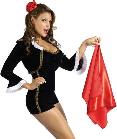 Matador Chick Spagnolo Torero Donna Costume