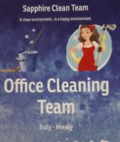 Experienced Cleaning Team available