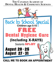 Free Dental Cleaning for Children!!!