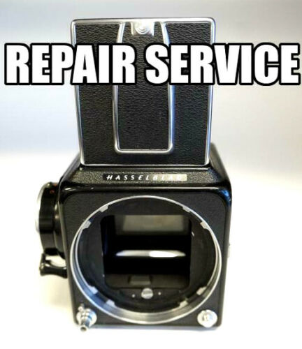 """""""REPAIR SERVICE"""" Hasselblad 500c/m and c with 6 month Warranty"""