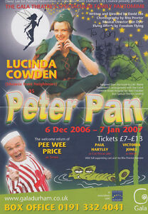 Lucinda-Cowden-Neighbours-Peter-Pan-Hand-Signed-Pantomime-Flyer-Media-Photo