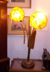 Mid Century Modern Tri Light Table Lamp