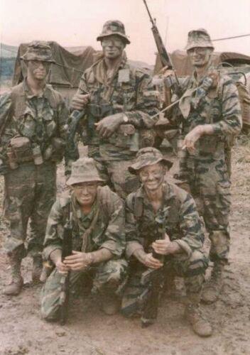 Vietnam War U.S. Army K Co 75th Ranger Battalion 69 Hazey Glossy 8x10 Photo