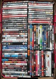 75 Dvds For Sale - Collect Only