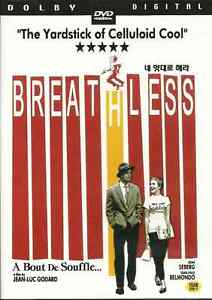 BREATHLESS ( JEAN-LUC GODARD )  NEW  DVD