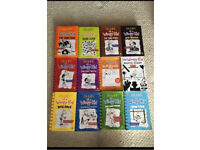 Complete set of Diary of a Wimpy Kid