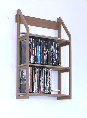 Regal für 78 DVD zum an die Wand hängen von Regaflex - Die Wand Hängen