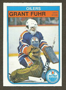 GRANT FUHR .... ONLY ROOKIE CARD .... 1982-83 OPC hockey cards