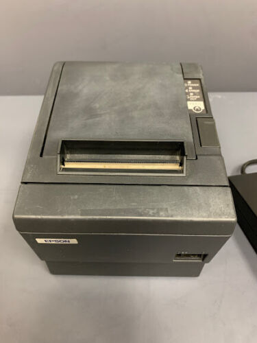 Epson TM-T88III POS Point of Sale Thermal Receipt Printer M129C with Adapter