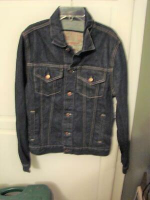 Arizona Denim Jacket Size Small NEW WITH TAGS RinsedWash Free Shipping Arizona Denim Jacket