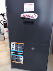 Lennox G61MPV Series furnace for sale (in like new condition).