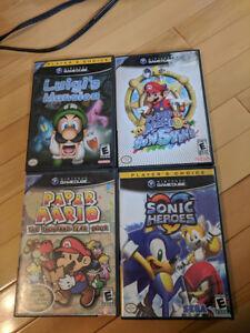 GameCube Games (Paper Mario and Luigi's Mansion)