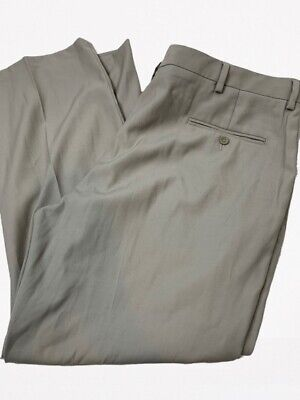 Kenneth Cole Reaction Men's Size 42 X 30 Khaki Dress Pants Tan Beige -