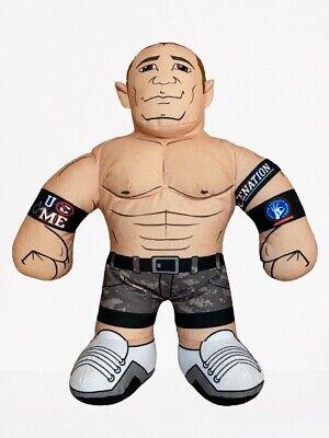 "2011 WWE John Cena 16"" Brawlin Buddies Talking Wrestler Plush Figure"