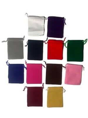 10 Pack Velvet Bags 4 X 3.5 Plush Party Favor Wedding Gift Jewelry Pouch