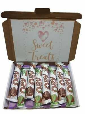 Nestle aero 4 x choc and 4 x mint chocolate gift box. Ideal for birthday