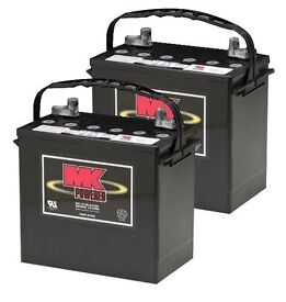 2 x new 55Ah MK mobility scooter batteries - Free Delivery Within 20 Miles