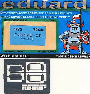 Used, Eduard F-4F/RF-4E Phantom II F. O.D.Etched Parts 1:72 New for Revell Model Kit for sale  Shipping to United States
