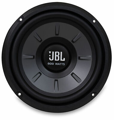 JBL Stage 810AM 8-Inch 800-Watts Stage Series Single 4 ohm Car Audio Subwoofer 800 Series Single