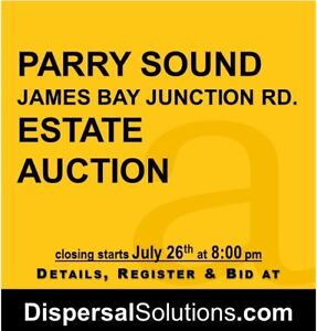 Parry Sound Estate Auction | July 20-26