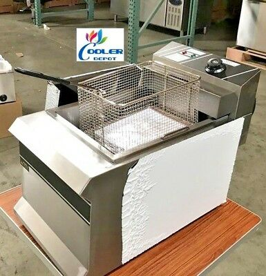 New 2.5 Gallon Electric Deep Fryer Counter Top Model Fy11 Single Basket 220v