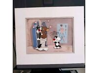 Warner bros RARE original cel animation art