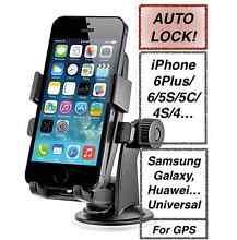 NEW AutoLock Car Windshield Phone Holder iPhone5/6/Plus Universal Wembley Cambridge Area Preview