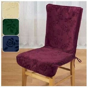 High Back Chair Covers Burgundy