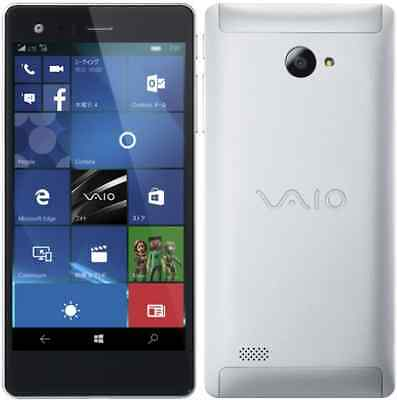 VAIO PHONE BIZ VPB0511S WINDOWS 10 DUAL SIM METAL JAPAN SMARTPHONE UNLOCKED