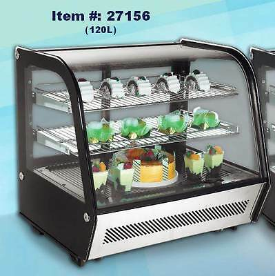 Omcan Rs-cn-0120 4.25cf Countertop Refrigerated Display Case New