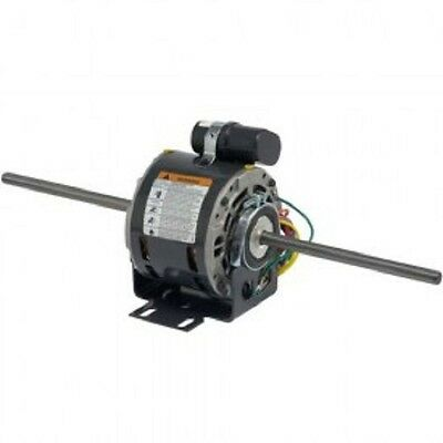 NEW! Double Shaft Fan & Blower, 1/4 HP, 1-Phase, 230V, 1625 RPM Motor!! 1625 Rpm Double Shaft