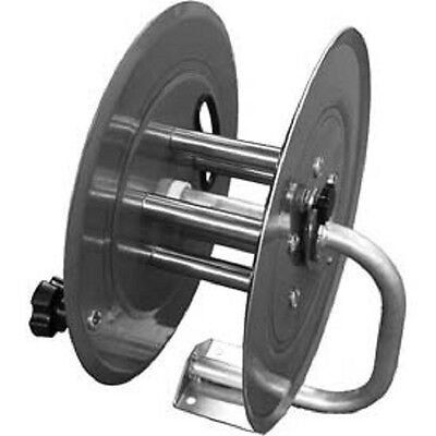 New Stainless Steel Pressure Washer Hose Reel 5000 Psi 150 Capacity