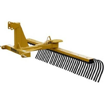 New 5 Medium Duty Landscape Rake Tractor Attachment Category 1