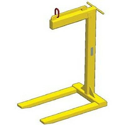 New Dual Bale Lift Pallet Lifter - 2000 Lb. Capacity-tracking Chip