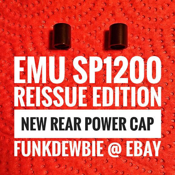 Emu SP1200 Reissue Edition NEW Rear Power Cap Button