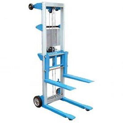 New Vestil Portable Hand Operated Lift Truck 400 Lb. Cap. Fixed Legs