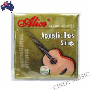Alice Acoustic Bass Guitar String Set Light, Long Scale 40 - 95 N Box Hill South Whitehorse Area Preview