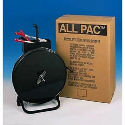 New Poly Strapping Kit 12 X 3600 Coil With Tensioner-sealer-seals Cart