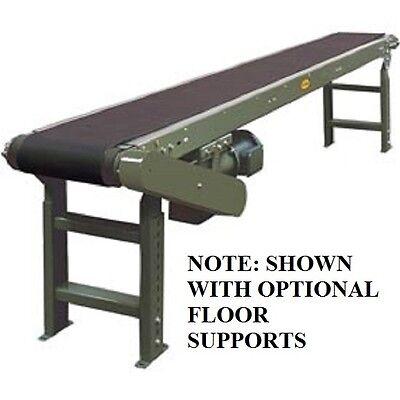 New 16l Slider Bed Conveyor 115v1ph 20w Belt