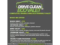 Mobile car Valeter and detailer/ driveway cleaning